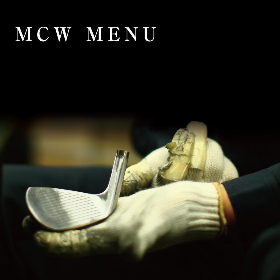 MCW MENU